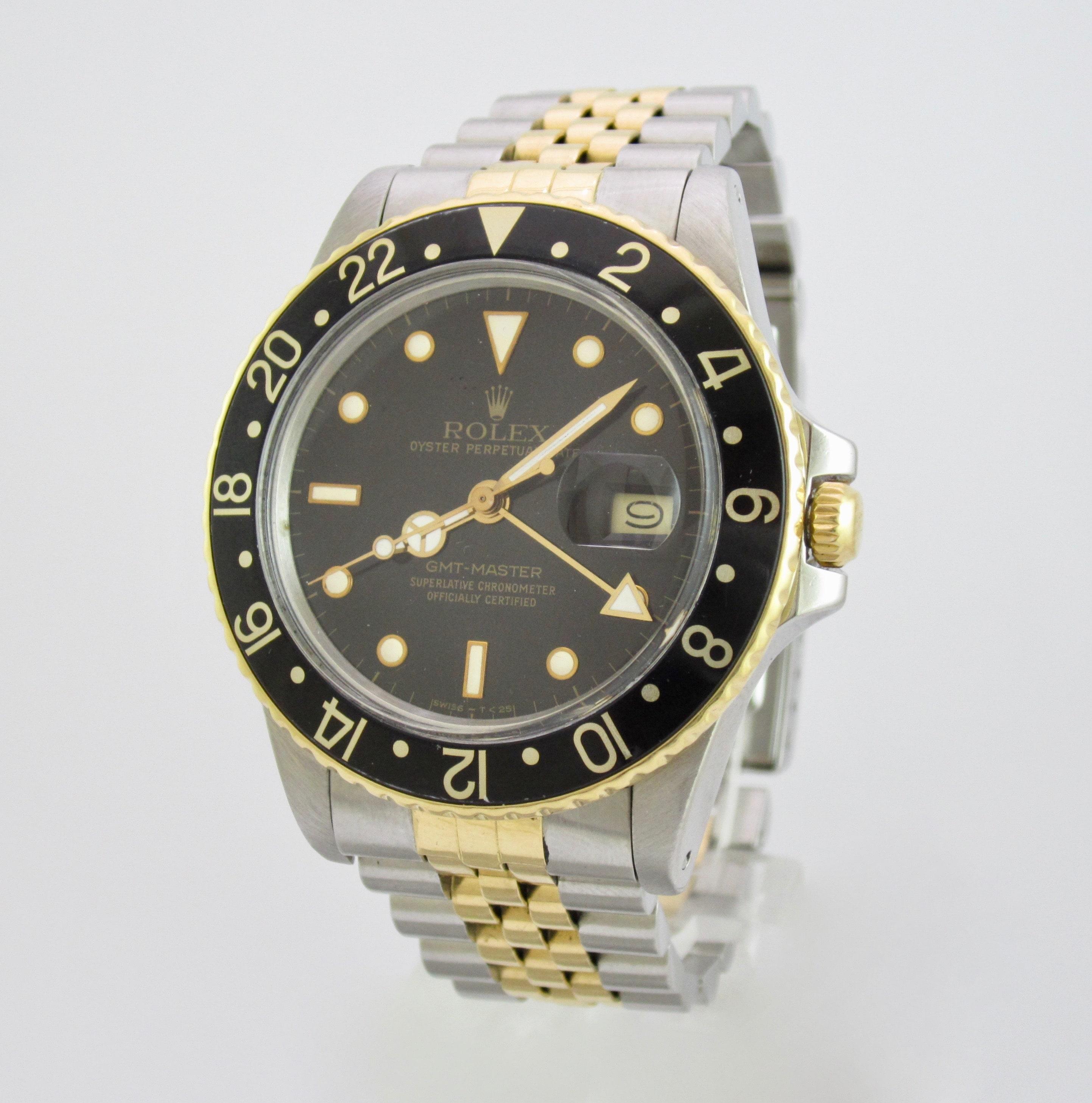 Rolex Gmt Oro E Acciaio