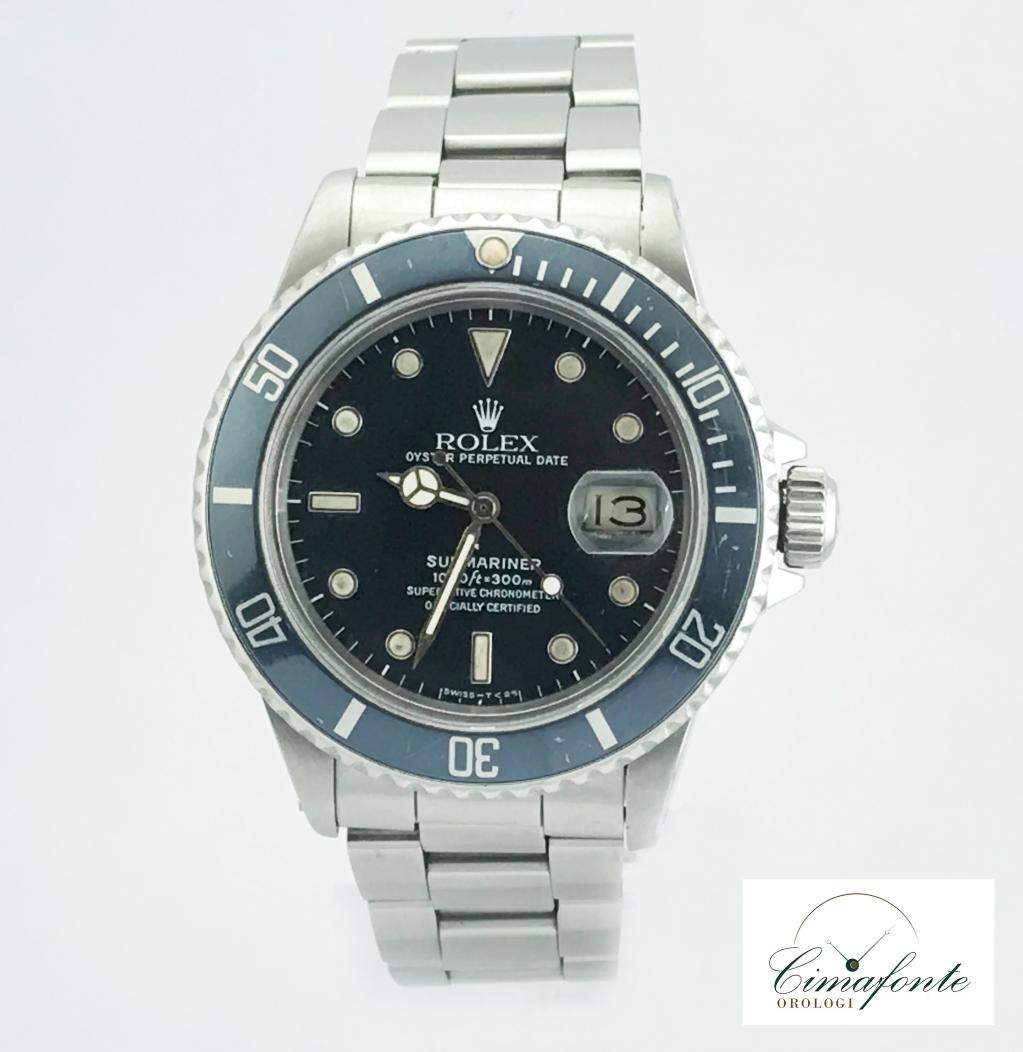 Rolex Submariner date ref.16800