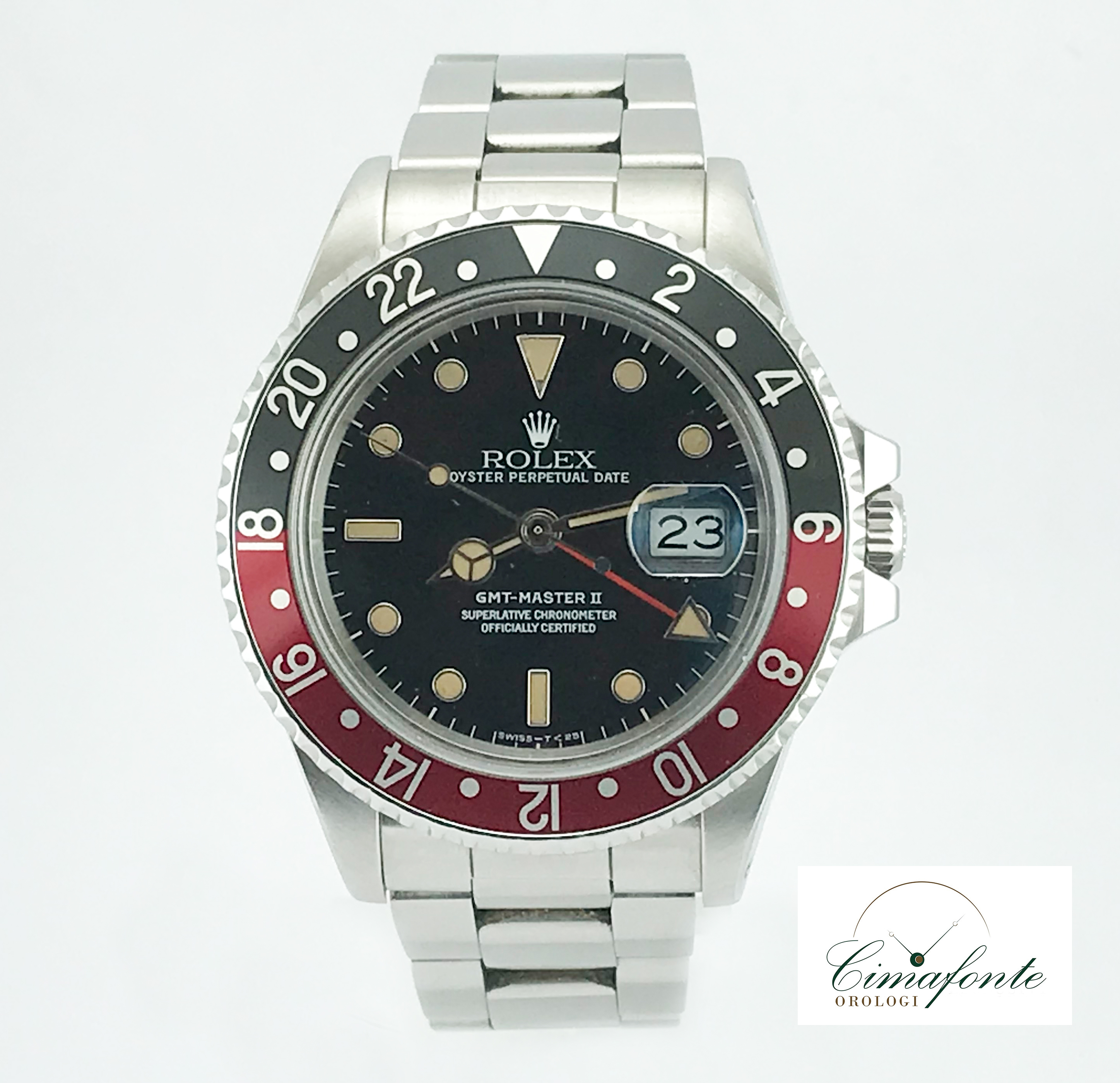 rolex Gmt master II Fat Lady 16760 1984