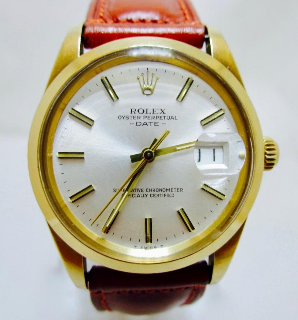 Rolex Date 15008 oro