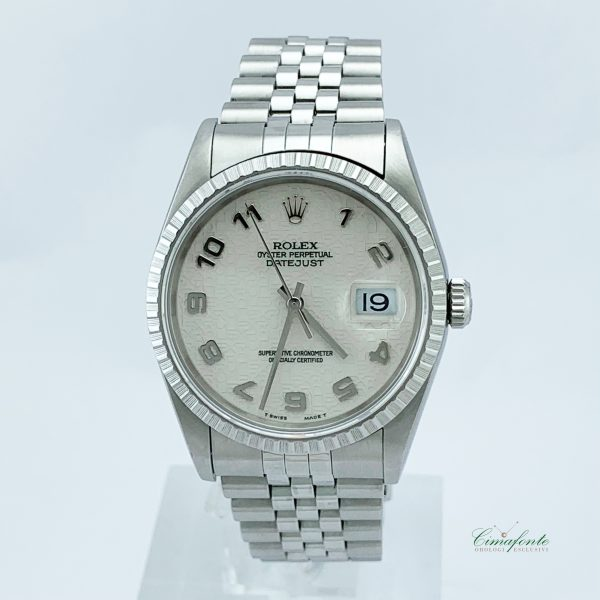 Rolex Datejust 16220 36mm secondo polso Quadrante Centenario