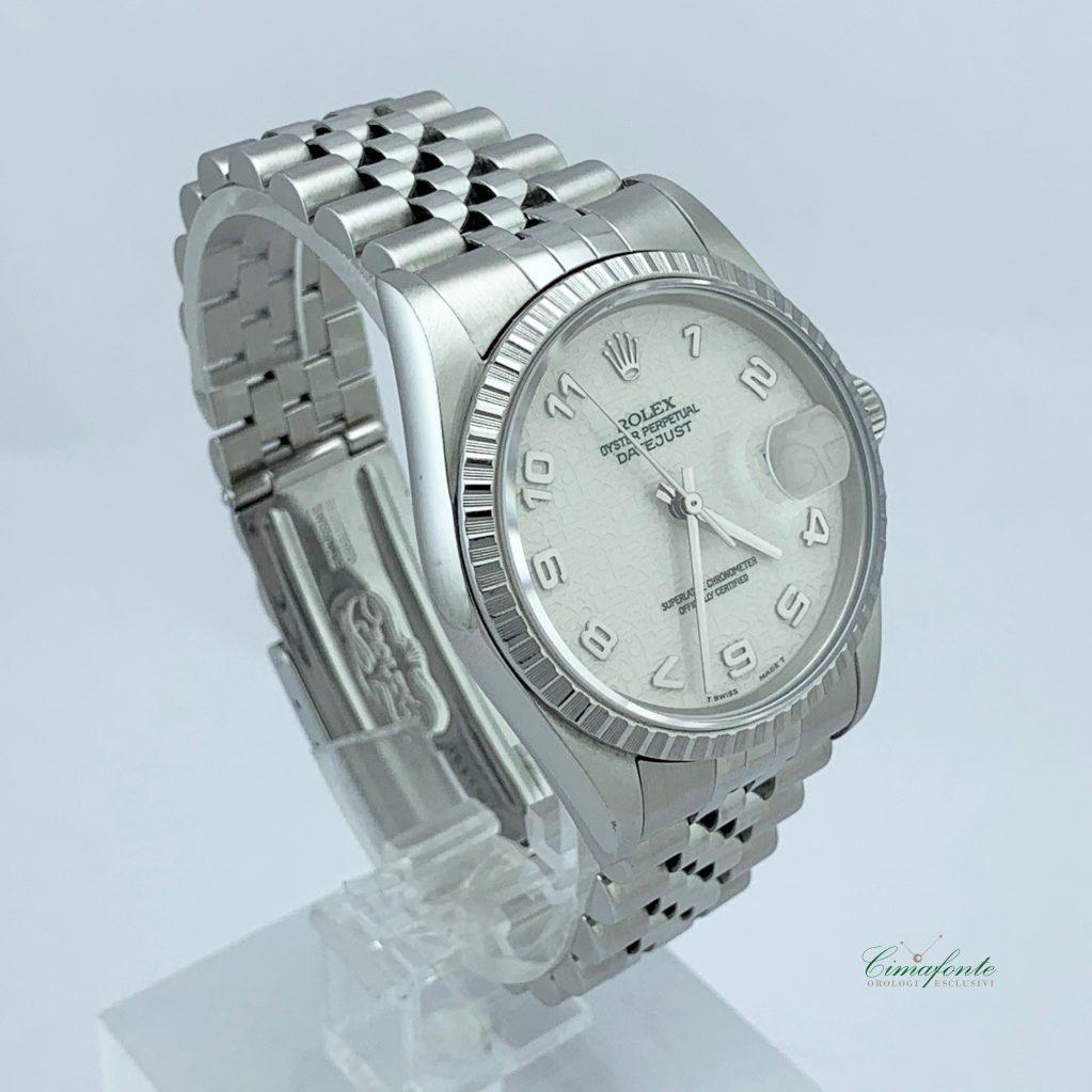 Rolex Datejust 16220 36mm secondo polso Quadrante Centenario