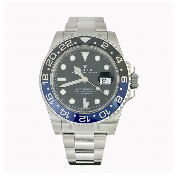 Rolex Gmt 116710 BLNR Batman