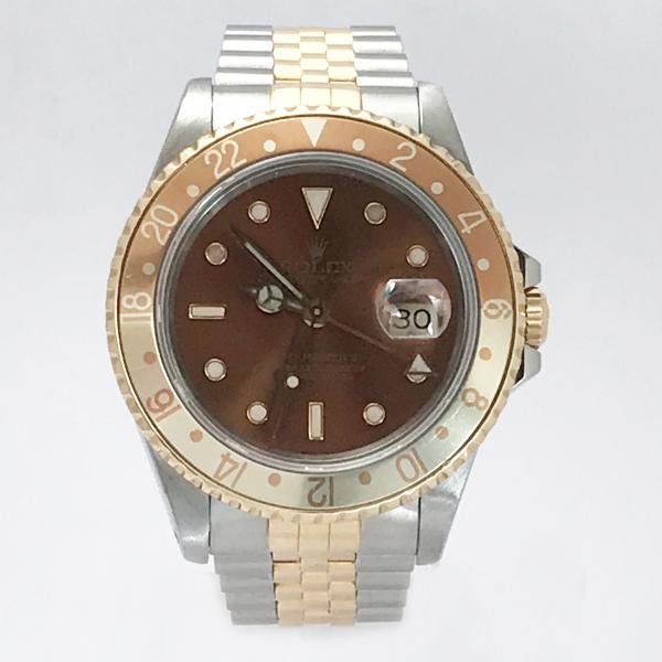 Rolex Gmt 16713 1990 occhio di tigre