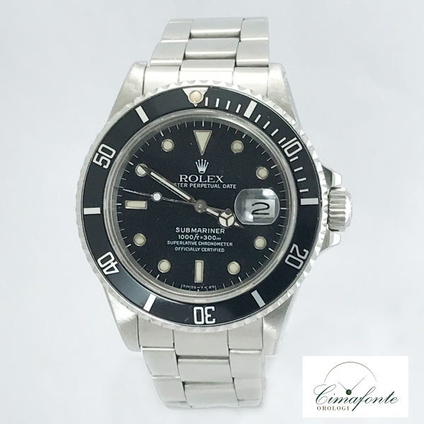 Rolex Submariner 168000