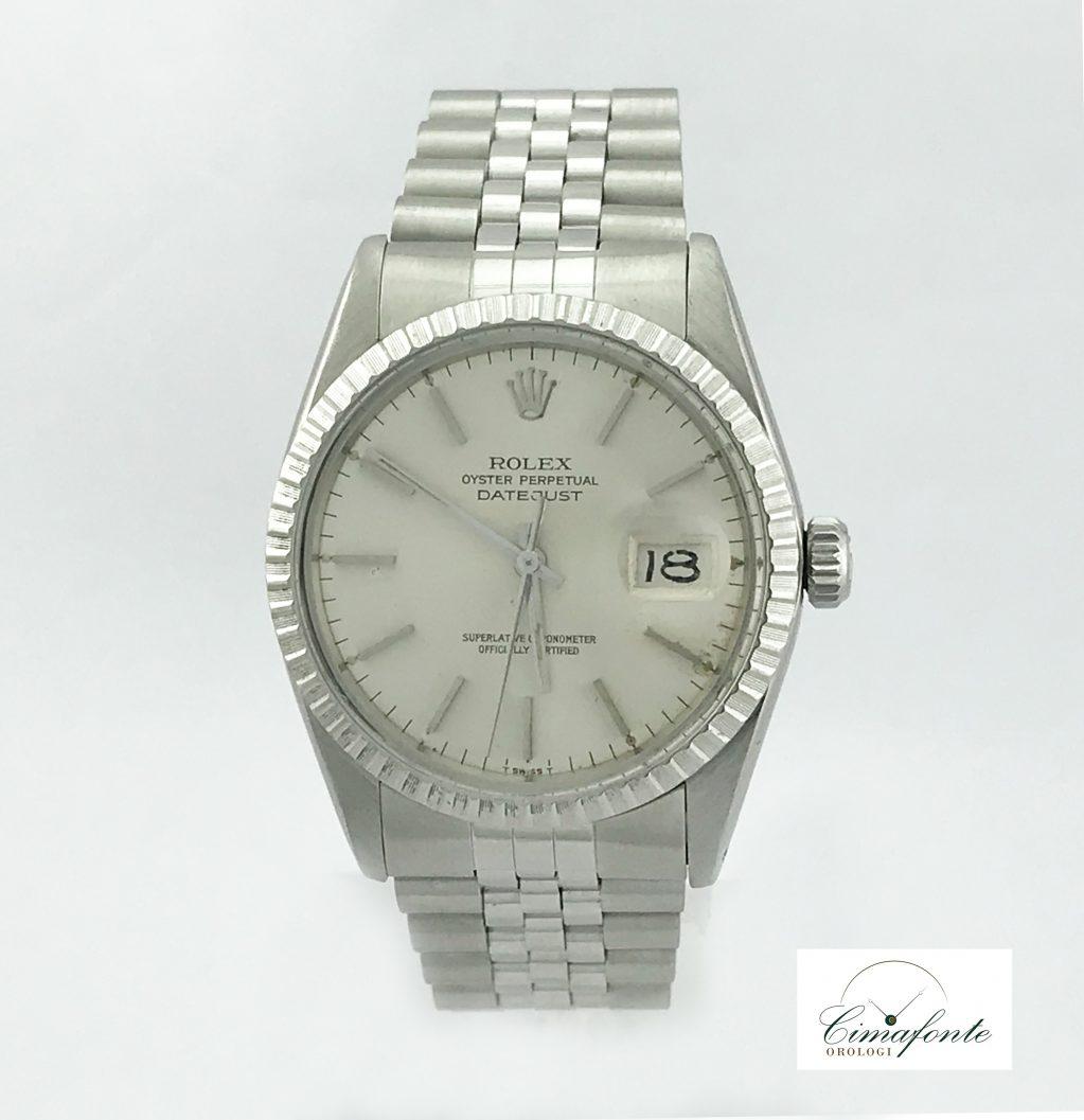 Rolex Datejust 16030 secondo polso
