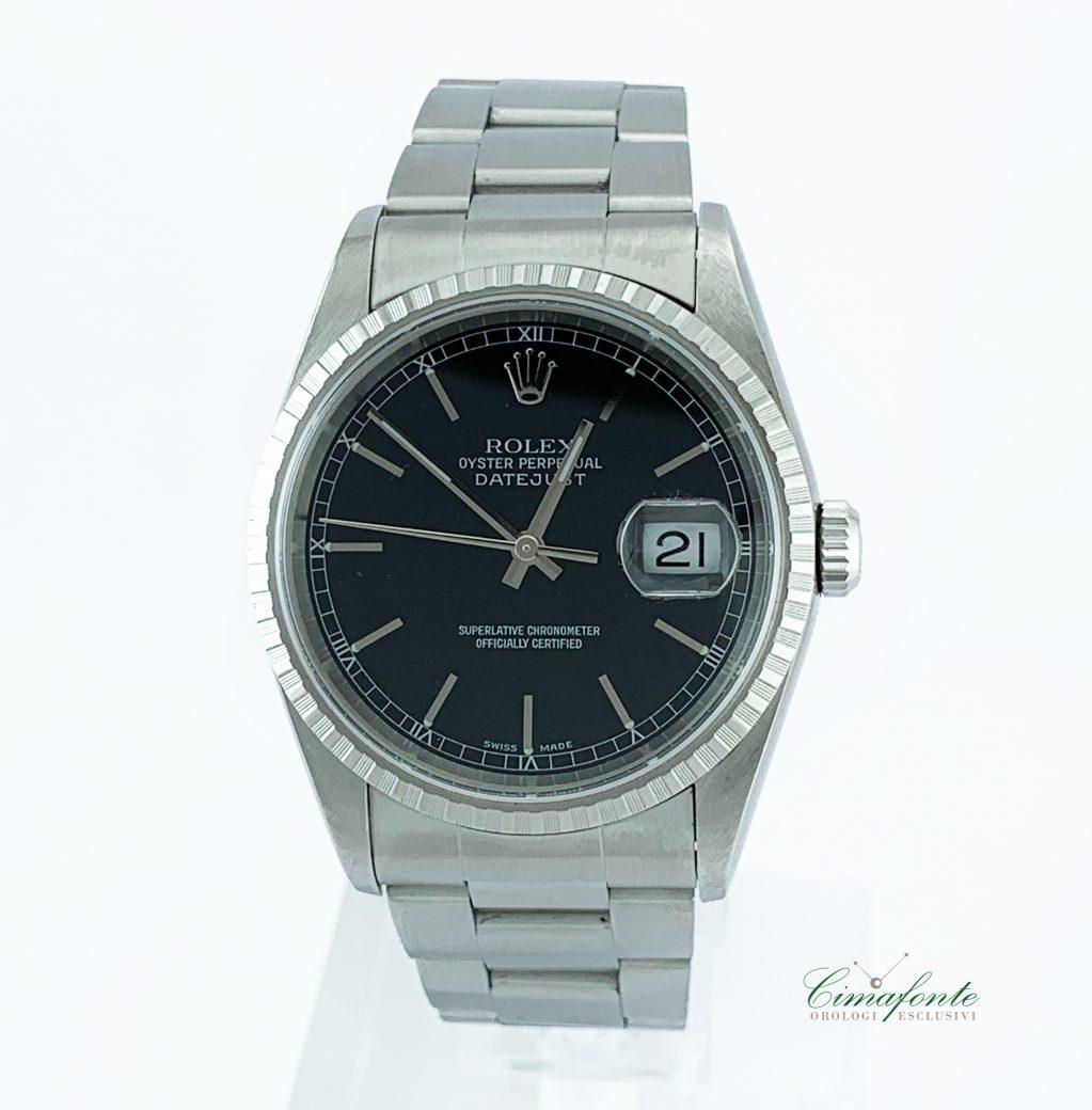Rolex Datejust 16220 Dial Nero 36mm datario