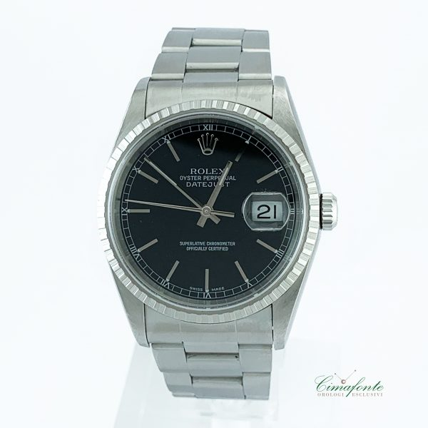 Rolex Datejust 16220 Dial Nero 36mm datario