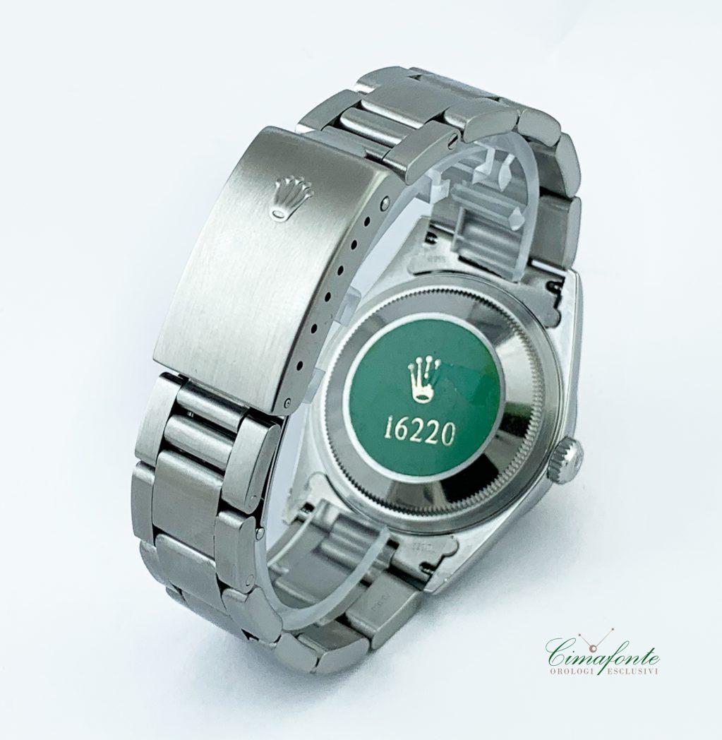 Rolex Datejust 16220 Dial Nero 36mm bracciale