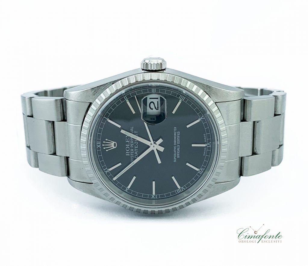 Rolex Datejust 16220 Dial Nero 36mm quadrante
