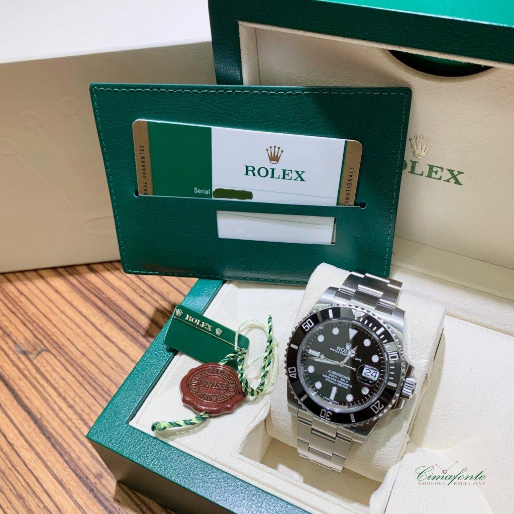 Rolex Submariner 116610LN Ghiera Ceramica anno 2015