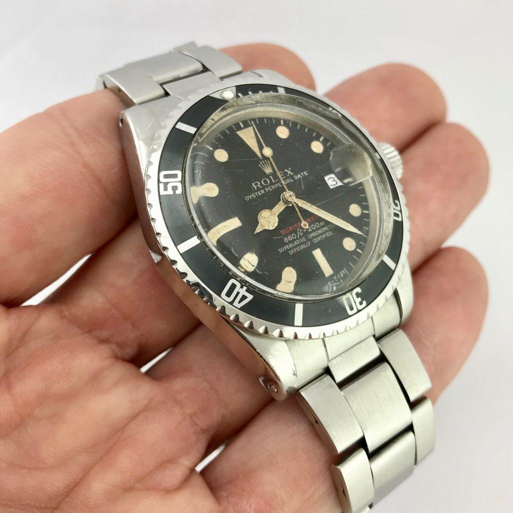 Rolex Submariner 160 scritta rossa