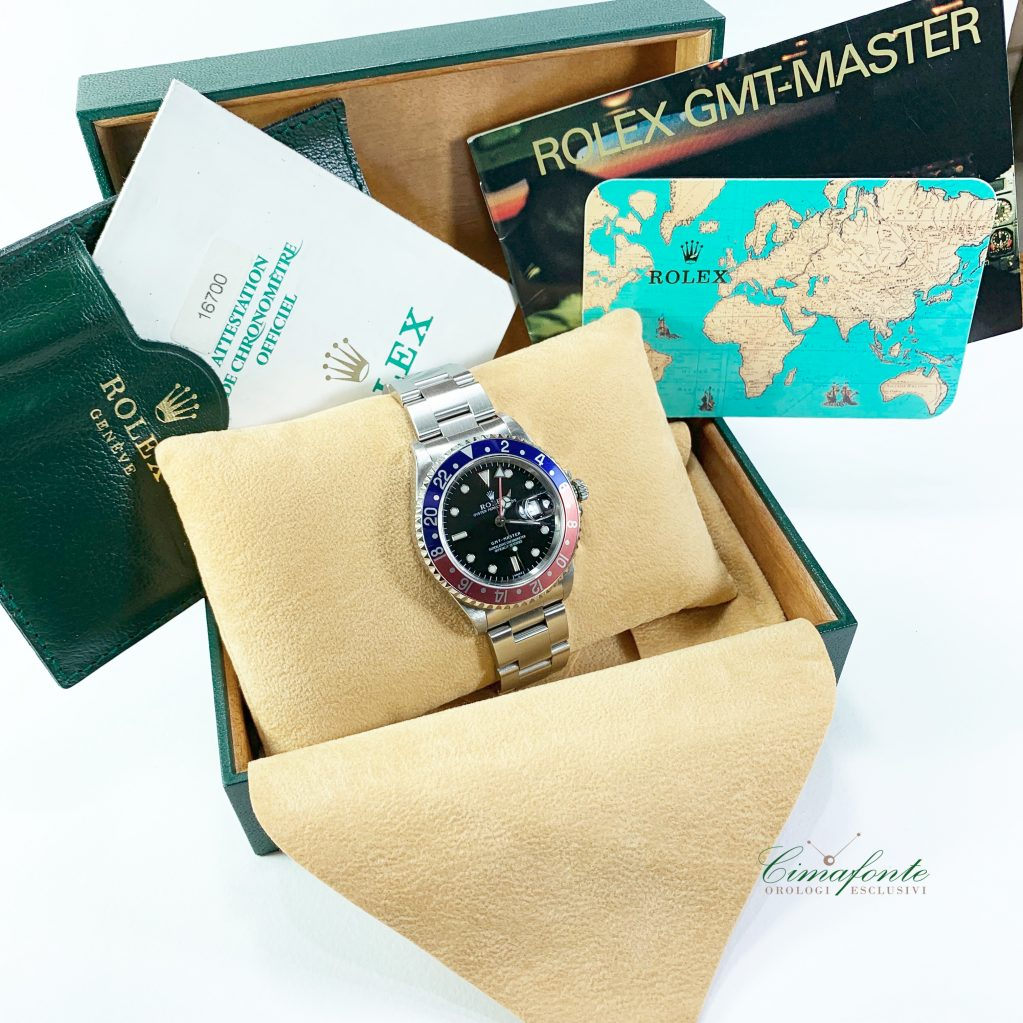 Rolex Gmt Master 16700 only swiss