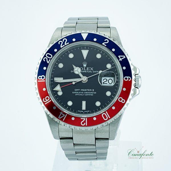 Rolex Gmt Master II 16710 anno 2004 scatola e garanzia
