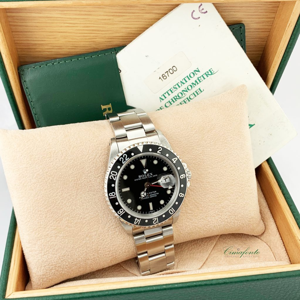 Gmt Master 16700 Only Swiss anno 1999 secondo polso