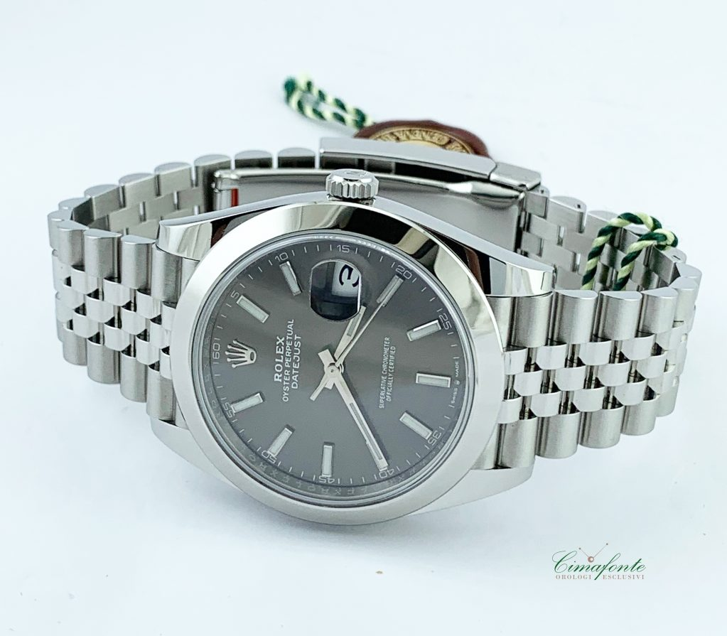 Rolex Datejust 41mm Ref.126300 New Model Dial Rhodium