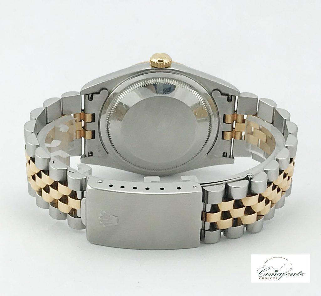 Rolex Datejust 36 cassa e lunetta