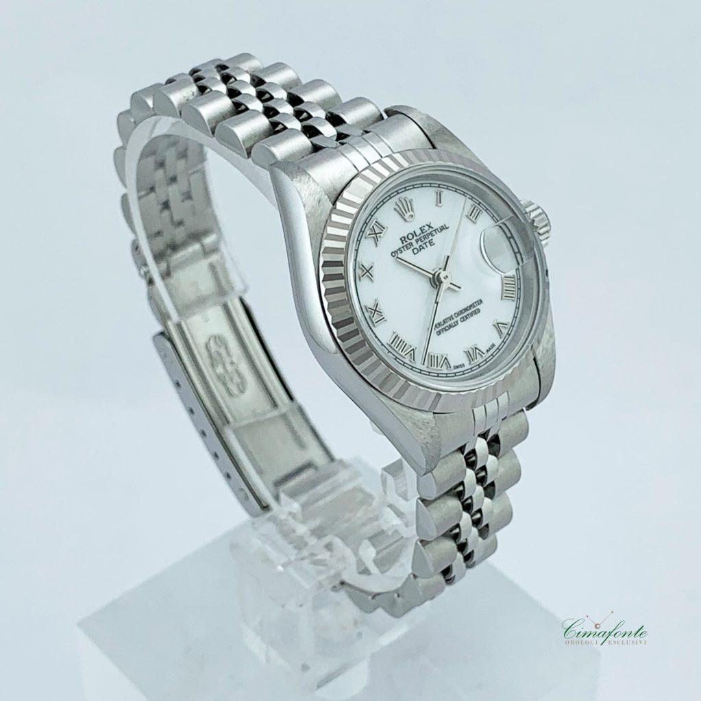 Rolex Datejust Lady 79174 Secondo Polso Lunetta oro