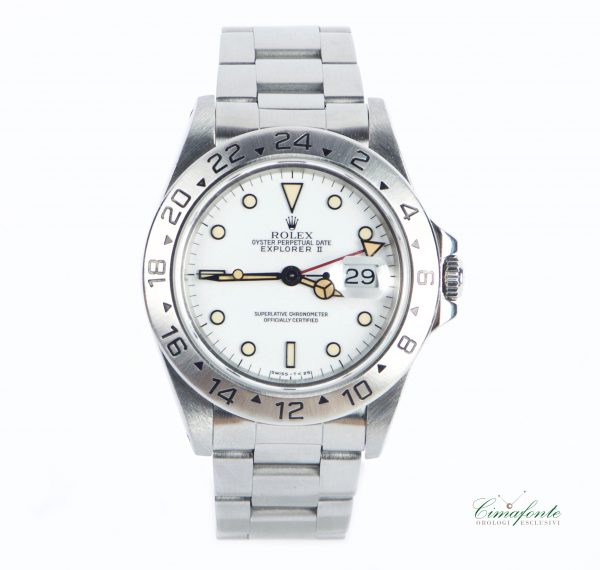 Rolex 16570 dial Bianco chicchi dimais usato secondo polso
