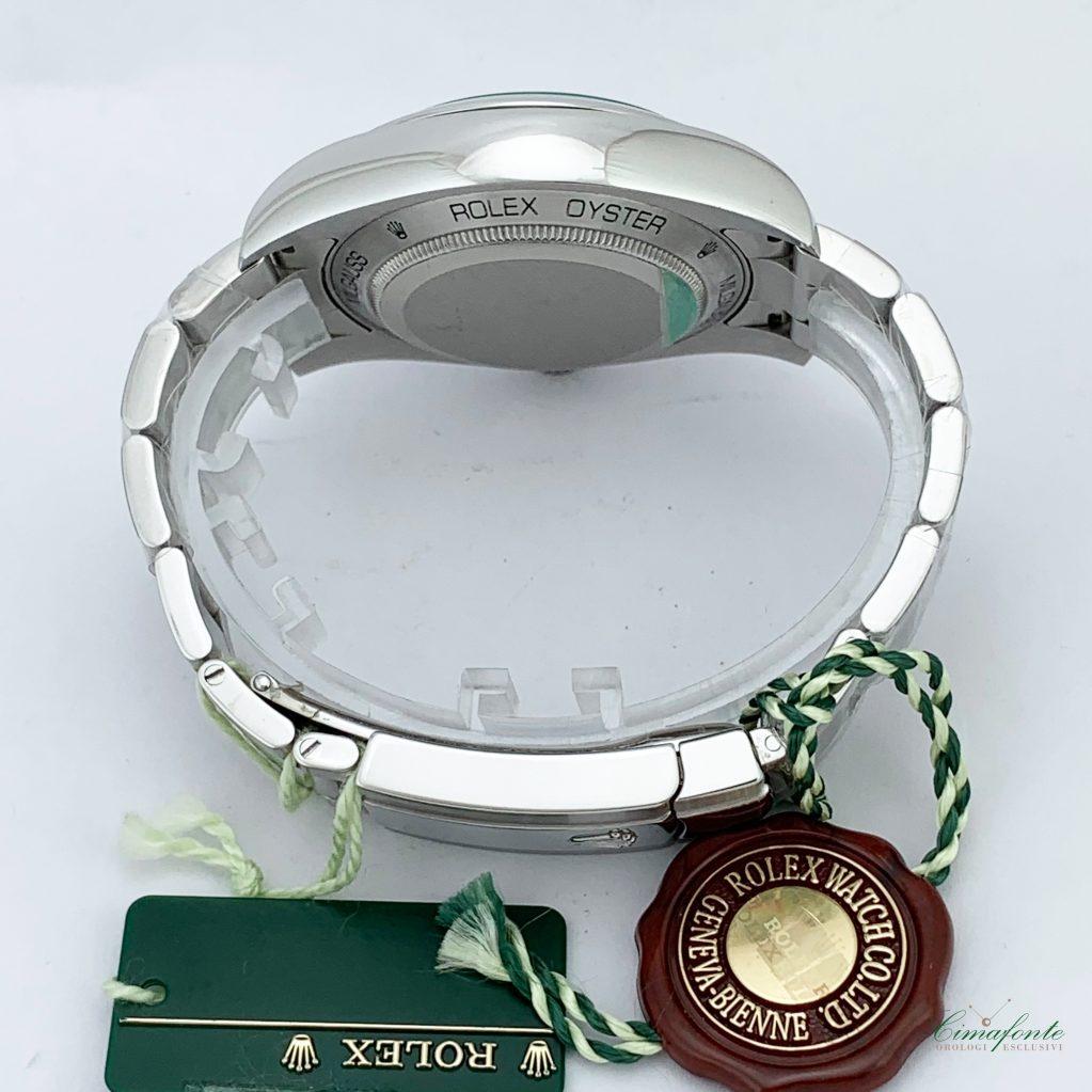 Rolex Milgauss 116400GV 2008 40mm acciaio oyster Vetro verde usato secondo polso