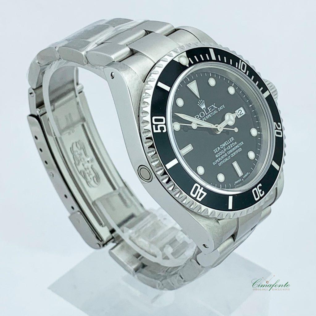 Rolex Sead-Weller 16600 2002 40mm usato acciaio oyster secondo polso